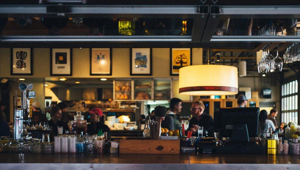 ristoranti aperti zona gialla sera