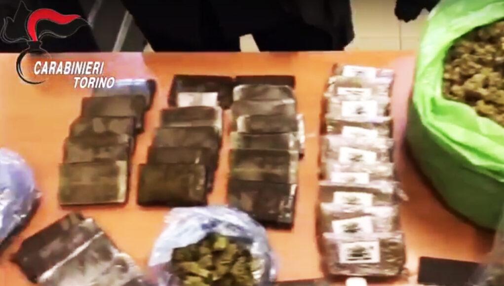 operazione carabinieri val susa droga estorsione