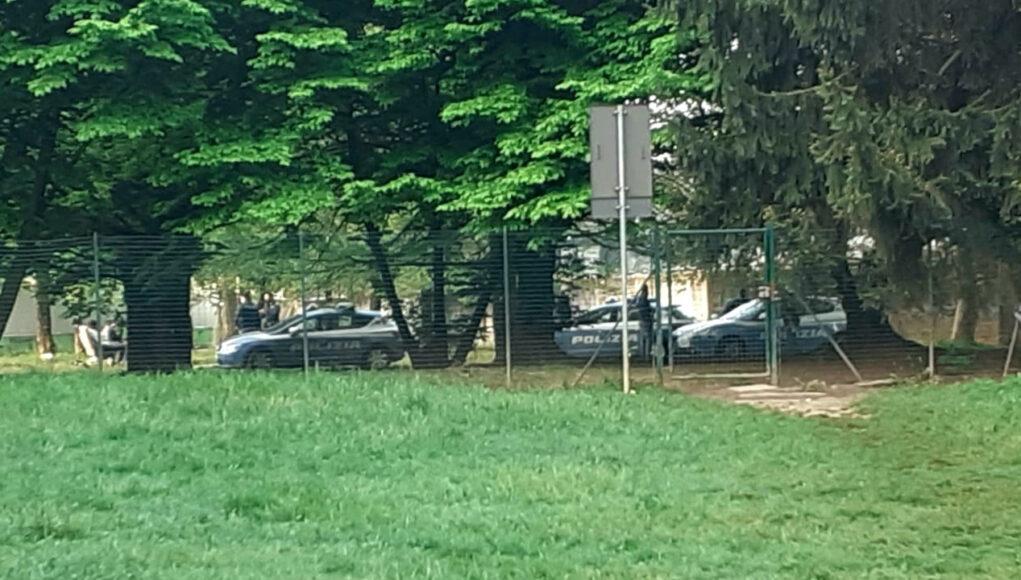 polizia sempione brenta fossata pusher tossic camping
