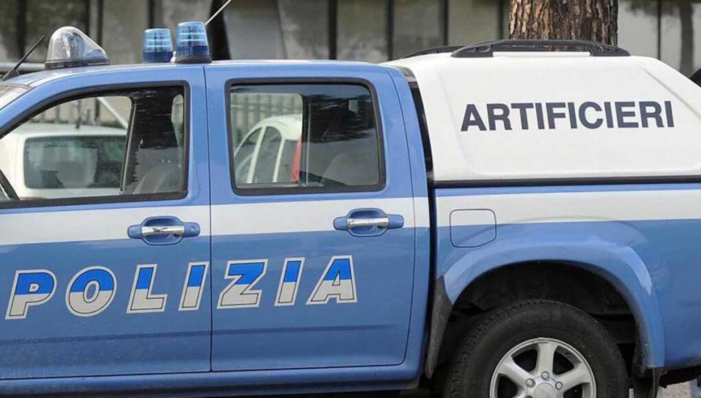 ordigno bellico artificieri polizia