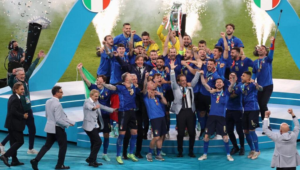 italia campione europei 2021 2020