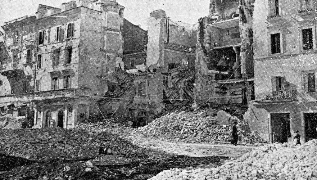 bombardamento frascati 8 settembre